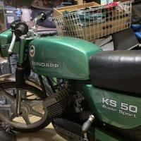 Zundapp veteran moped