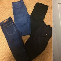 Jeans, leggings, chinos