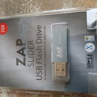 ZAP SLIDER USB FLASH DRIVE