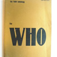 The Who. Anthology. US Not/Text-bok. 1981.
