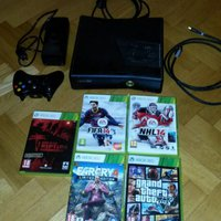 xbox 360 Elite 4GB plus spel