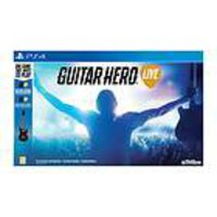 Guitar Hero Live PS4 spel + två gitarrer