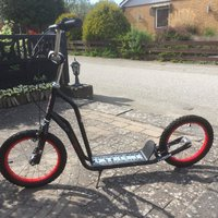 Extreme sparkscooter/spark cykel
