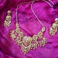 Indisk / Indian Bollywood Jewellery Set
