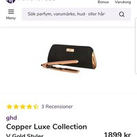 Ghd Copper Luxe Edition Plattång