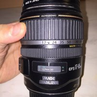 Canon EFS 17-85mm Image Stabilizer.