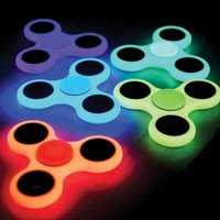 Fidget Spinner - Glow in dark, luminous, självlysande