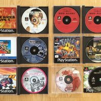 Sony Playstation (PS one) spel