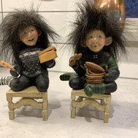 Troll med stolar , Candy Designs Norway