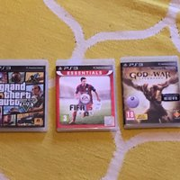 Ps3 spel gta5 FIFA 15 god of war