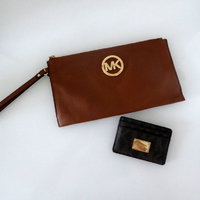Michael Kors Clutch + Card Case Plånbok
