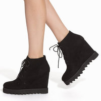 Kilklackar Wedge Boots Nelly