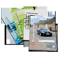 looking for driver license book in english