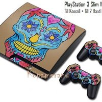 COOLT & DEKORATIVT VINYLSKINNS COVER TILL PlayStation 3