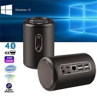 Mini PC / Minidator Windows 10 Dual Band WiFi 2GB 32 GB ROM