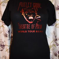 Ny! T-shirt - Mötley Crüe - Rock/Band/Metal