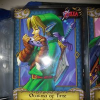 Zelda trading cards samlarkort 10. Ocarina Of Time