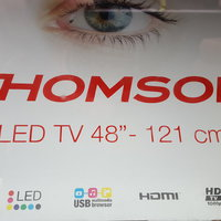 Helt ny Thomson smart/3d tv i kartong
