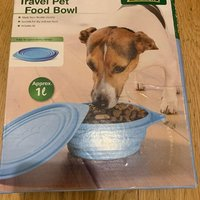 Zoofari Hundskål Travel pet food bowl NY