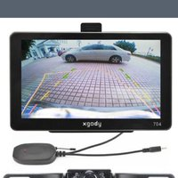 7 Inch Car GPS Navigator + Wireless Rearview Camera
