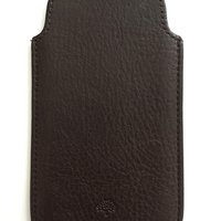 Mulberry iPhone-fodral i skinn (kvitto finns)