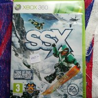 Xbox 360 spel SSX, Need for speed most wanted och James bond.