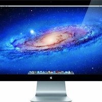 "Apple Cinema Display A1407 27"" Widescreen LED Monitor, built-in Speaker"