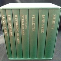 SALE! The complete 7 volumes of the Brontë sisters (Charlotte, Emily & Anne) literary works in The Folio Society edition