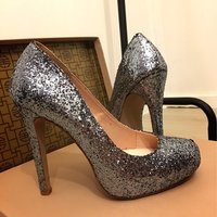 Sparkle Silver Pumps  stl 37