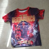 Five Finger Death Punch T-shirt. Storlek: XL