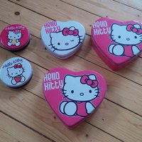 Plåtburkar Hello kitty