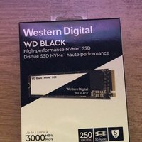 WD Black NVMe M.2 SSD 250 GB