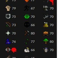 Oldschool Account | Main | 1 quest från Quest cape | 1650 total level |