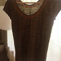 Massimo Dutti embroidered top size S