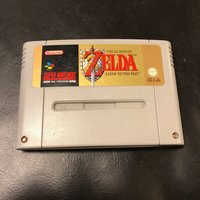 Zelda - A link to the past SNES Super Nintendo