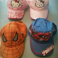 Kepsar Hello Kitty/Spiderman