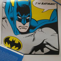 Batman plansch