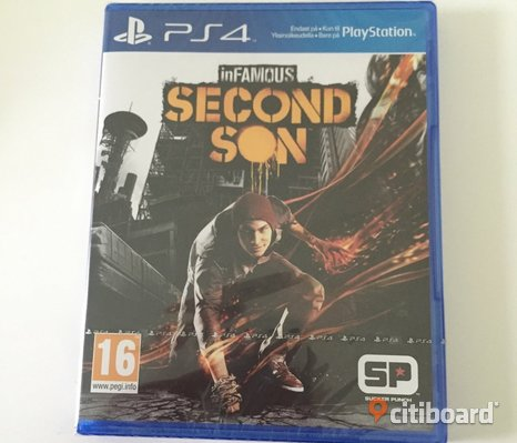 PS4 inFAMOUS SECOND SON nytt