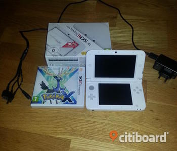 Nintendo 3DS XL + Pokemon X