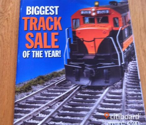 walthers biggest track sale of the year tidning