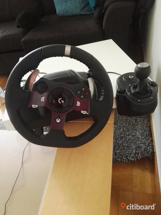 Logitech G920 + Logitech driving force shifter för pc/xbox one Skåne Eslöv