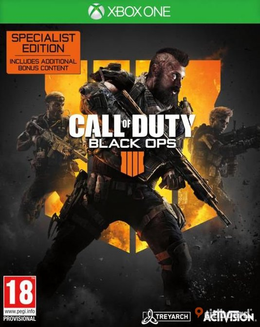 Call of duty: Black ops 4 till Xbox one  Nyköping / Oxelösund