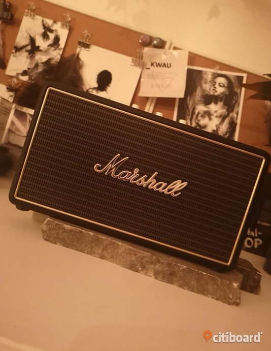 Marshall Stockwell portable speaker Norrköping Sälj