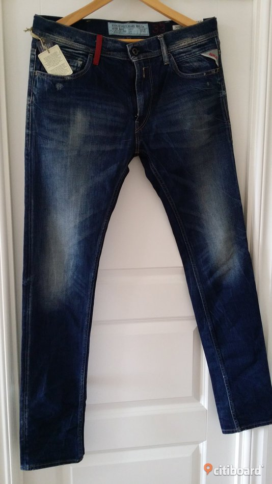 Helt NY Replay MA931 Jondrill Jeans Dark Blue