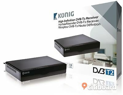 SCART 1080p Home Satellite TV Receivers with Free to Air Norrköping