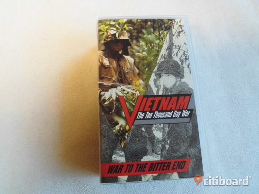 Vietnam. War To The Bitter End. Vhs-box. Ej Text. Import Eslöv