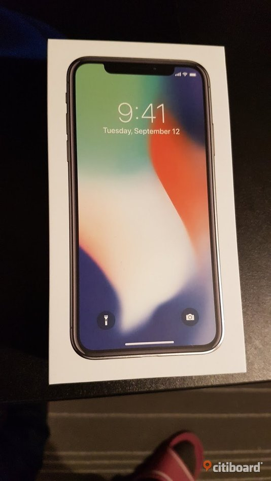 Iphone X 256GB Silver olåst Hofors