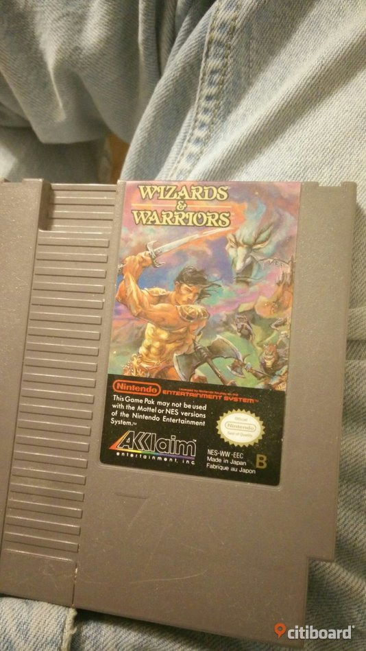 Wizard and warriors (Nes)  Mora