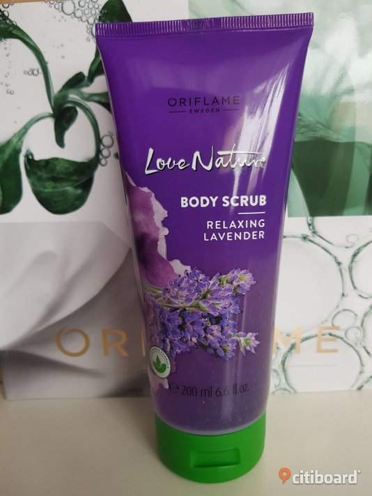 Love Nature Body Scrub Lavender Strömsund