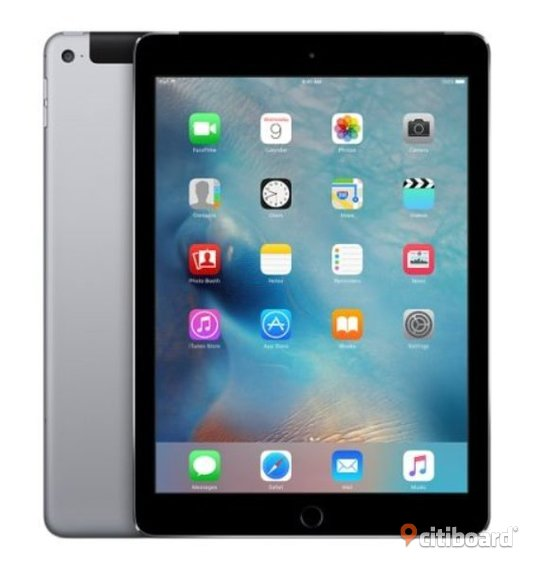 Apple iPad Air 2, 64GB, 4G Cellular + WiFi, Space Grey, Grade A Malmö Sälj